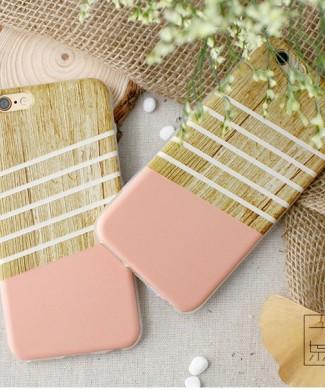 silikonovy obal na iPhone 6 s motivom dreva www.obalnaiphone.sk