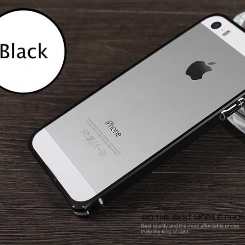 Hliníkový bumper pre iphpne 5 space gray black hliníkový obal 3
