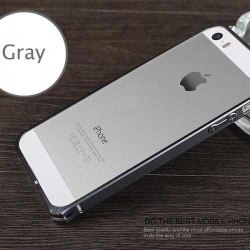 Hliníkový bumper pre iphpne 5 space gray black hliníkový obal