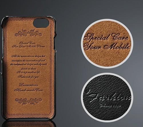 Kožený obal na kreditky na iphone 6  3