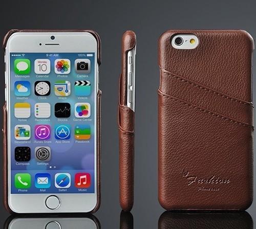 Kožený obal na kreditky na iphone 6  5