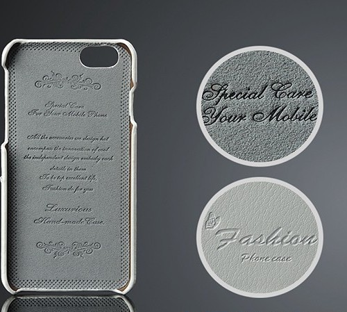 Kožený obal na kreditky na iphone 6  6