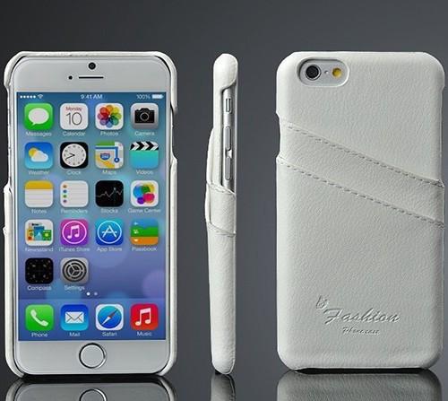 Kožený obal na kreditky na iphone 6  7