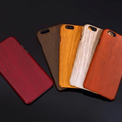 Obal na iphone 6 a 6 plus s imitáciou dreva