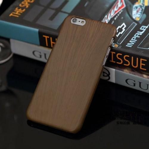 Obal na iphone 6 a 6 plus s imitáciou hnedého dreva