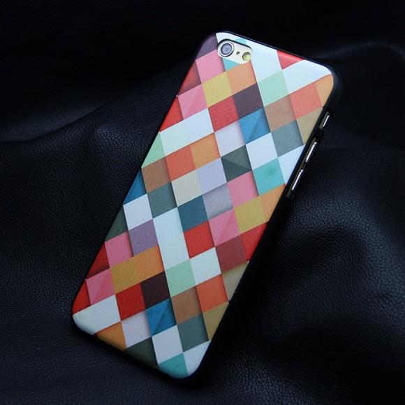 Obal na iphone 6 so šachovnicou www.luxur.sk