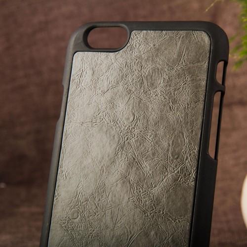Kožený obal na iphone 6 a iphone 6s s plastom  hnedý www.luxur.sk    čierny