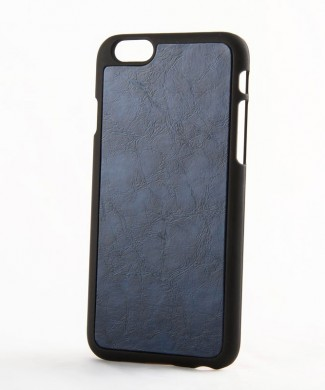 Kožený obal na iphone 6 a iphone 6s s plastom  hnedý www.luxur.sk    modrý