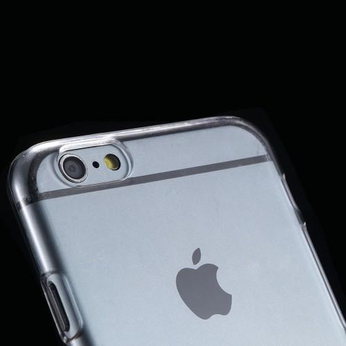 Priesvitný a transparentný obal na iPhone 6 6s a 6 Plus 6S plus www.luxur.sk