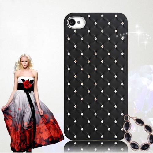 Elegantny-damsky-obal-na-iPhone-4-a-4s-www.obalnaiphone.sk-cierny