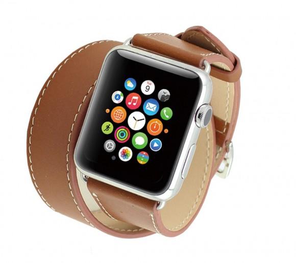 Exkluzívny kožený náramok apple watch www.obalnaiphone.sk, www.luxur.sk