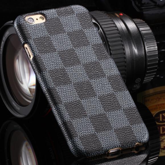 Karovaný obal na iPhone 6 a 6 plus www.obalnaiphone.sk  šedý