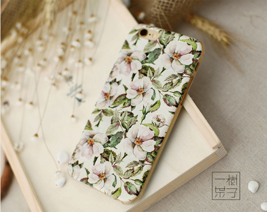 Kvetinovy obal na iPhone 6 a 6s www.obalnaiphone.sk