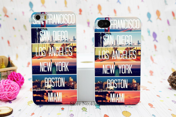 San francisco new york, miami kryt na iPhone 4 a 5. www.obalnaiphone.sk