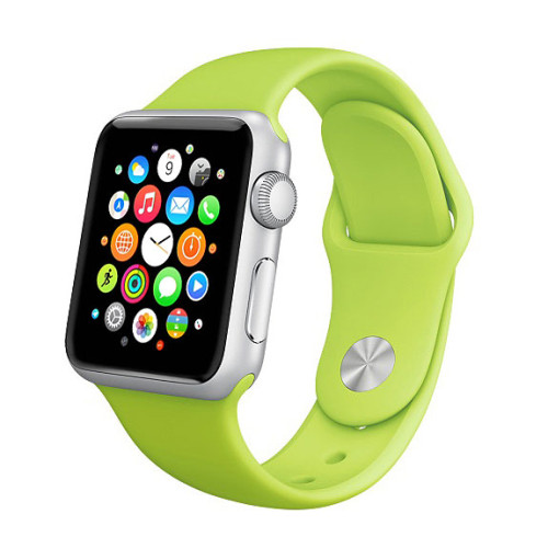 silikonovy-naramok-pre-apple-watch-green