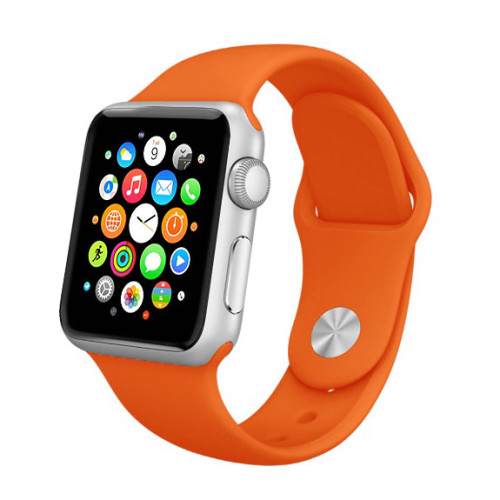 silikonovy-naramok-pre-apple-watch-orange