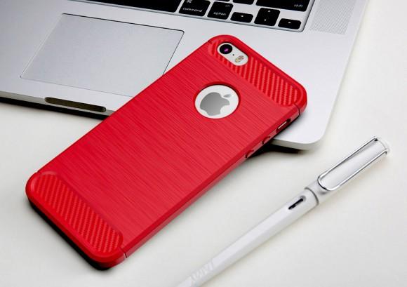 obal-zo-silikonu-iphone-cervena