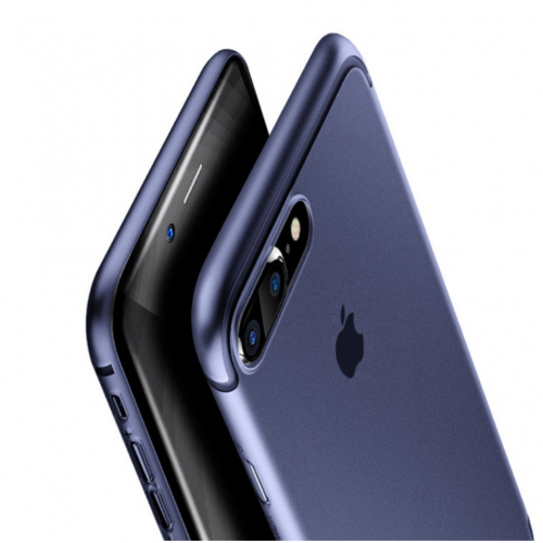 Obal na iPhone 7 a 7 plus Baseus Blue