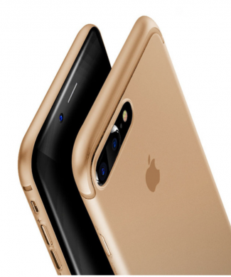 Obal na iPhone 7 a 7 plus Baseus Gold
