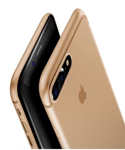 Obal na iPhone 7 a 7 plus Baseus Gold