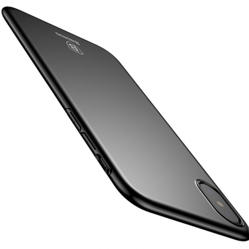Obal pre iPhone X Baseus Black