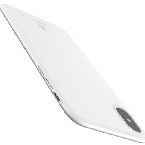 Obal pre iPhone X Baseus White