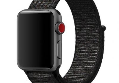 Remienky pre Apple Watch - Dark Black