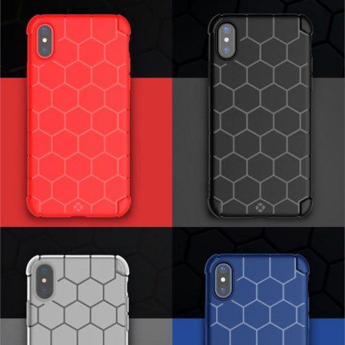 Odolný kryt pre iPhone X - 4 rôzne farby