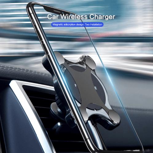 Bezdrôtová nabíjačka a magnetický držiak v jednom